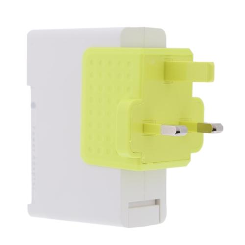 Anself 5V 4A 20W 4-Port USB Adaptador cargador multipuerto de moda cargador de viaje cargador convertidor conveniente portátil de enchufes diferentes