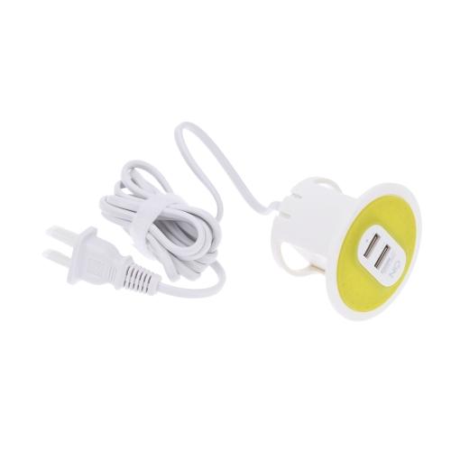 Mode 5 v 3. 1 a 15.5W 2 ports USB Power adaptateur Multiport Chargeur Portable convertisseur pratique chargeur de voyage nous brancher