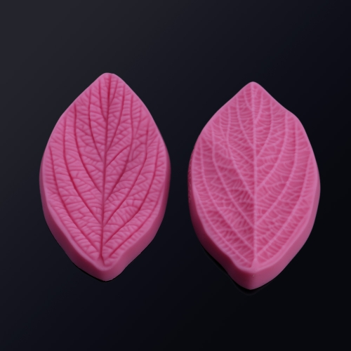 Anself VM001  3D Silicon Cake Mold Fondant Silicone Mould Candy Leaf Veiner Molds