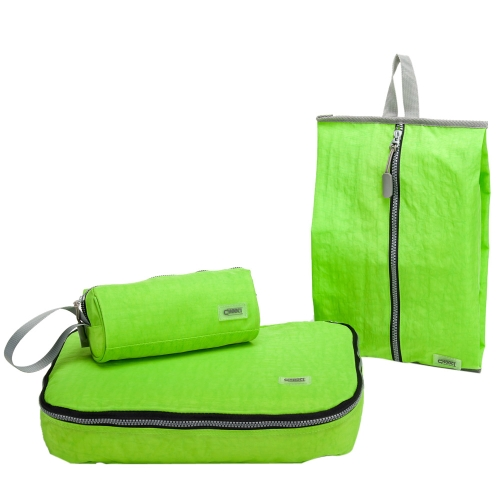 CHOOCI Lightweight Traveling Packing Bags Handy Durable Storage Bag Sets for Business Trip with Three Separate Bags