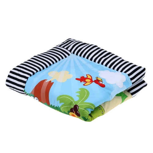 97 * 97cm Dinosaur Century Pattern Baby Infant Kid Play Mat Thick Soft Play Crawling Mat Padded Carpet