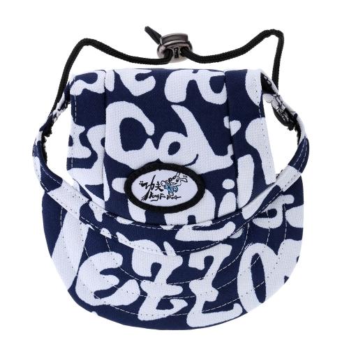 Fashion Adorable Dog Visor Breathable Fabric Comfortable Baseball Hat Pet Sun Hat Cute Sun Cap with Ear Holes