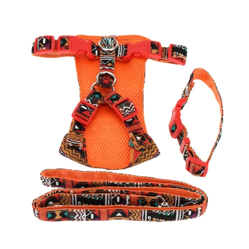 S Dog Necklace Pet Clothes Puppy Traction Suit Cat Pussy Harness Leash Pulling Rope Pets Collar Supplies