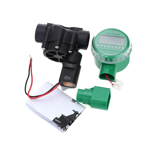 Electromagnetic Valve Timer Controller Battery Operated Garden Irrigation Controller Home Intelligent Watering Device Automatic Irrigation Equipment with 1 Inch Valve