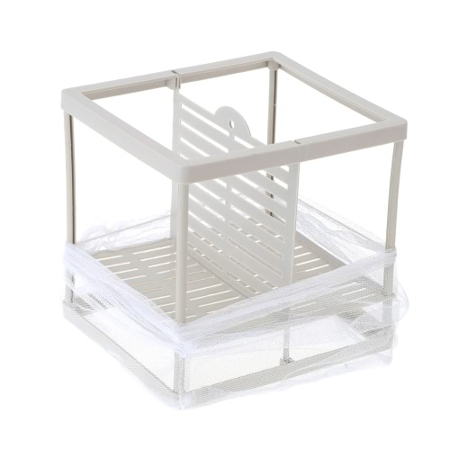 Fish Breeding Incubator Net Hanging Fry Baby Fish Hatchery Isolation Box Aquarium Accessory XL