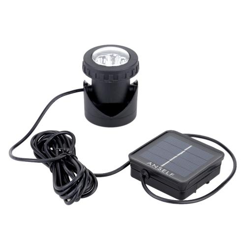 Anself 6pcs LED Lumière d'Energie Solaire pour Eclairage Paysage Extérieur Spot d'Énergie Solaire Lampes de Plongée Etanche Excellentes Composants d'Eclairage