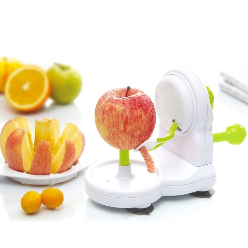 Anself Practical Manual Fruit Peeler Zester + Apple Cutter Corer Peeling Machine Kitchen Tool