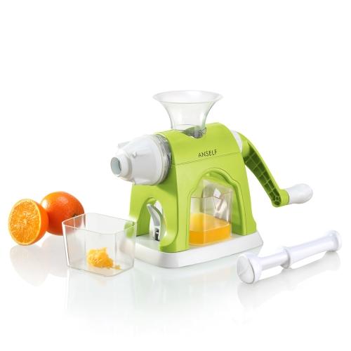 Anself многофункциональный ручной соковыжималкой Лимон Откатай плоды цитрусовых апельсиновый сок чайник бытовые кухня инструмент