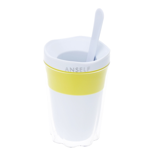 Anself Creative Fruit Juice Smoothie Cup DIY Milkshake Ice Cream Cup Kitchen Tool