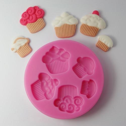Anself силиконовые помадной торт прессформы Шоколад сахар плесень кондитерских пирожное выпечки украшения инструмент