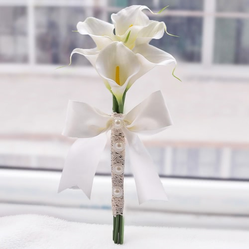Wedding Decoration Supplies Hand Made Real Touch Calla Lily Salable