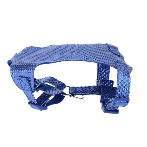 Комплектные Подтяжки для Домашних Больших и Средних Собак Вентилирующий Поводок для Прогулки Собаки Поводок + Подтяжки + Воротник