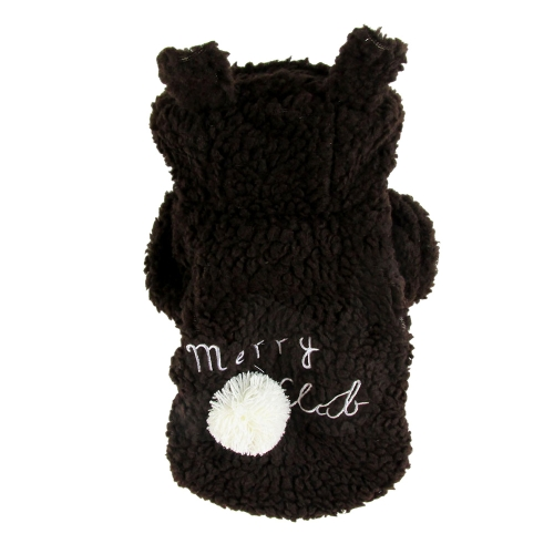 Soft Warm Pet Dog Puppy Clothes Lovely Sheep Coat for Autumn Winter S