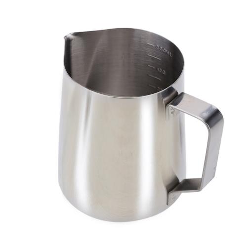 Контейнер из Нержавеющей Стали для Взбитого Молока Мензурка для Кофе