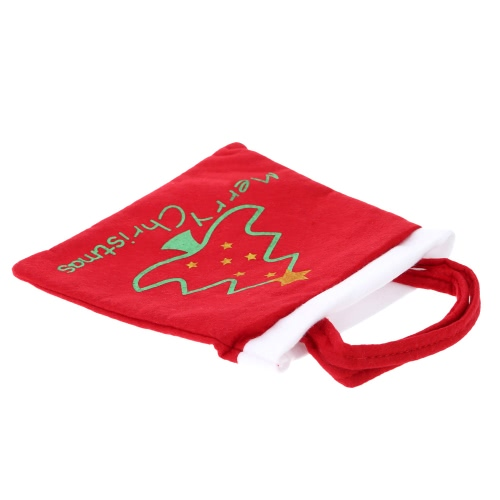 Tomtop coupon: Cute Christmas Tree Pattern Gifts Candies Bag Pocket Festival Decoration Decor Supplies