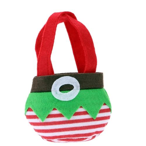 Lindo Natal presentes pequenos doces saco bolso decoração do Festival Decor suprimentos