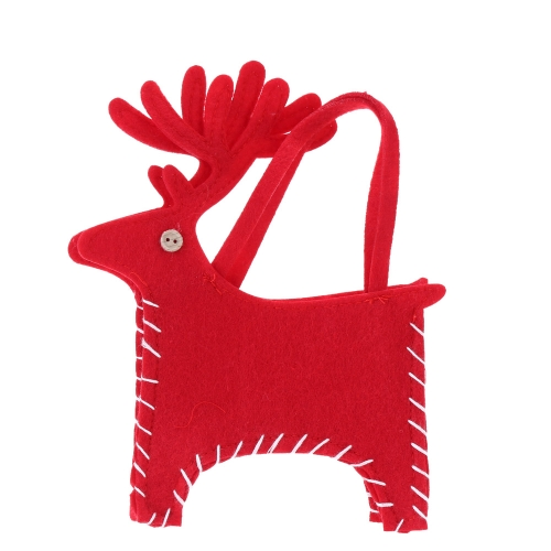 Cute Christmas Elk Gifts Candies Bag Pocket Festival Decoration Decor Supplies