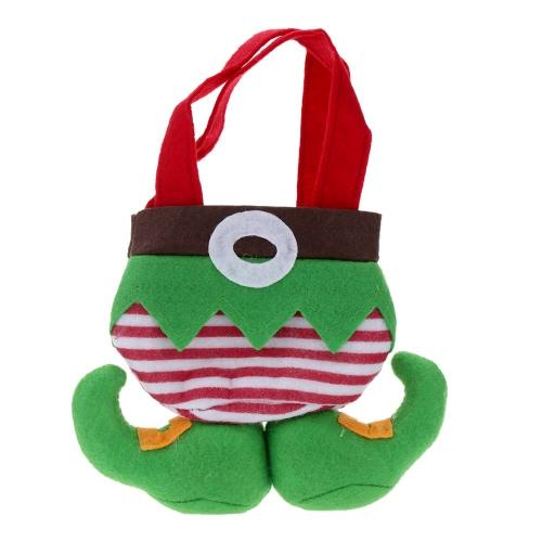 21 * 17cm Beau Sac de Cadeau de Noël Poche de Bonbon Chocolat Sac décoratif festival Mini Sac à Main