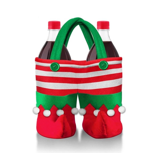 Cute Multifunction Christmas Gift Beverage Candy Bag