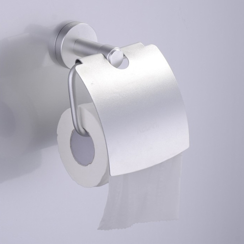 Hot Sale Alumimum Toilet Paper Holder Wall-Mounted Bathroom Tissue Rack Bathroom Accessory