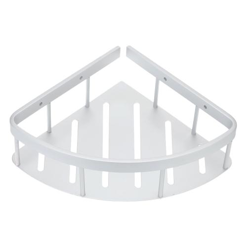 Handy Wielofunkcyjny, oszczędzający przestrzeń ścienny Trójkątny półka Rack Wysokiej Jakości Aluminiowa Łazienka Łóżko narożne Półka Przechowywalna Łazienka Składowanie i Organizacja Produkt
