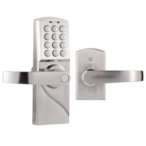 Manija derecha / izquierda Homgeek de segunda mano Cerradura antirrobo electrónica inteligente Código digital Teclado sin llave Entrada de seguridad Cerradura