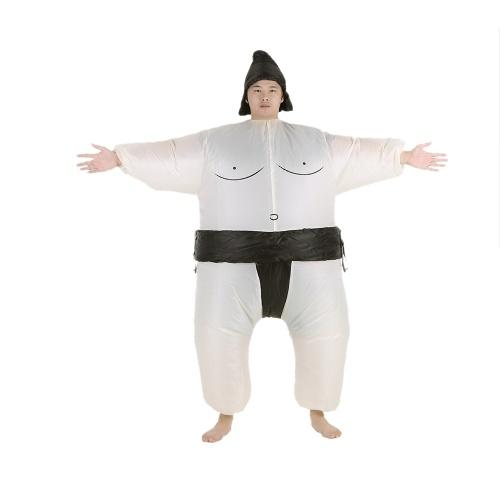 Секонд хенд милые дети надувной костюм сумо с аккумулятором вентилятор фантазии платье хэллоуин ну вечеринку косплей наряд толстый надувной костюм борца