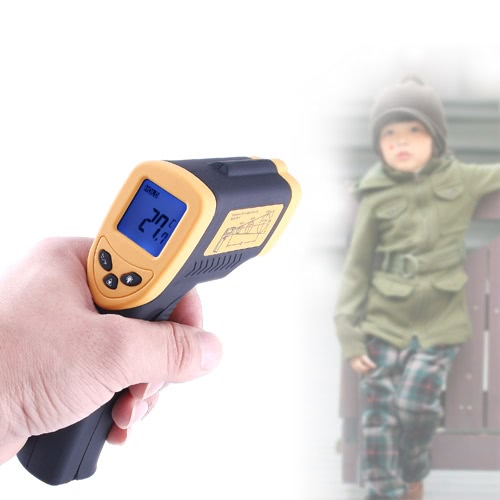 Digital Infrared Thermometer Laser Gun
