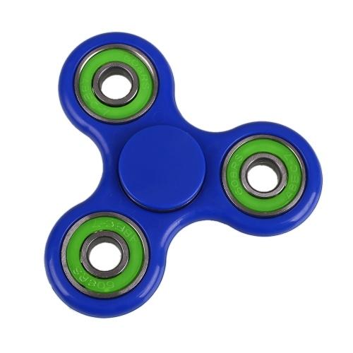Segunda mano Anself Tri Fidget Hand Finger Spinner Spin Widget Focus Toy EDC Pocket Desktoy Triángulo Regalo de plástico para niños con TDAH Alivio de la ansiedad por estrés Aburrimiento Matanza Tiempo lindo