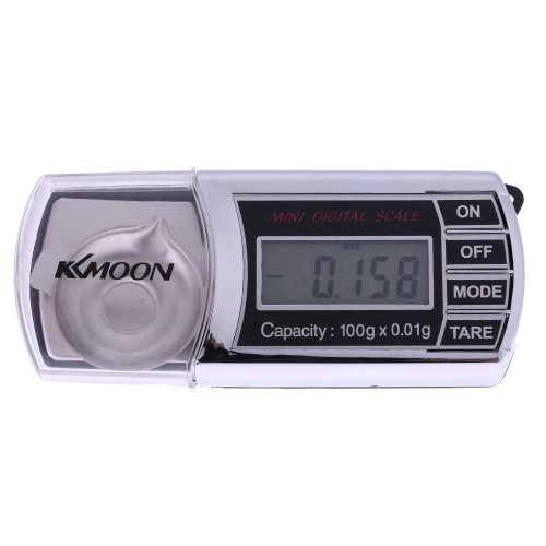 KKmoon 0,01 g bis 100 g Mini-Taschenwaage Kompaktwaage Präzisionswaage Digital LCD Neues Design