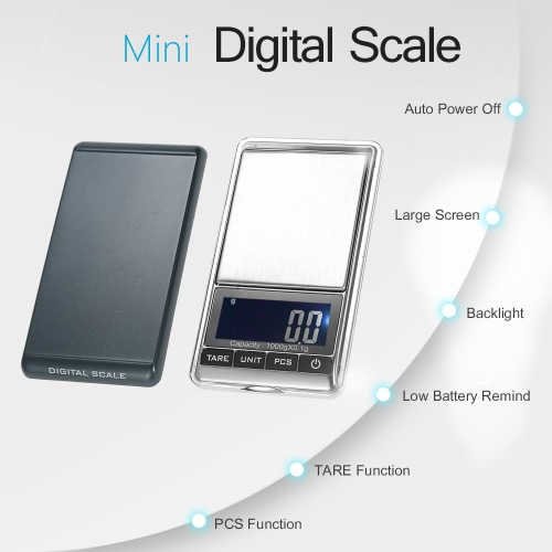 KKmoon 1000 x 0.1g Mini Digital Scale