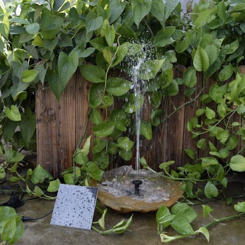 Солнечные приведенные в действие водяной насос