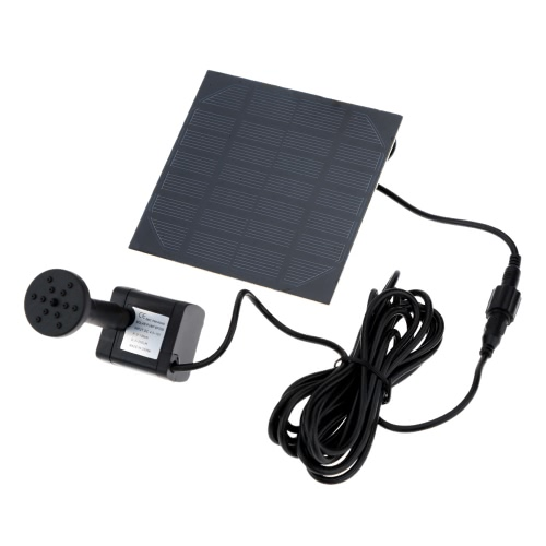 Decdeal Solar Powered Water Pump