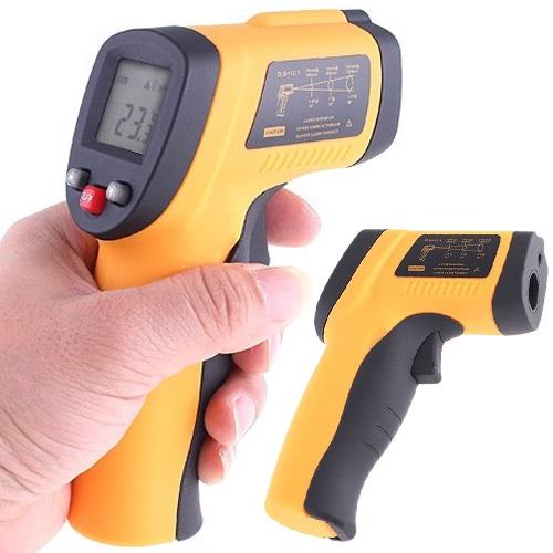 KKmoon Infrared Thermometer Non Contact Laser IR Thermometer Digital -50℃-550℃