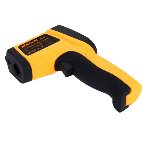 KKmoon Infrared Thermometer Non-Contact Laser IR Thermometer -50-900℃ w/ Alarm MAX/MIN/AVG/DIF