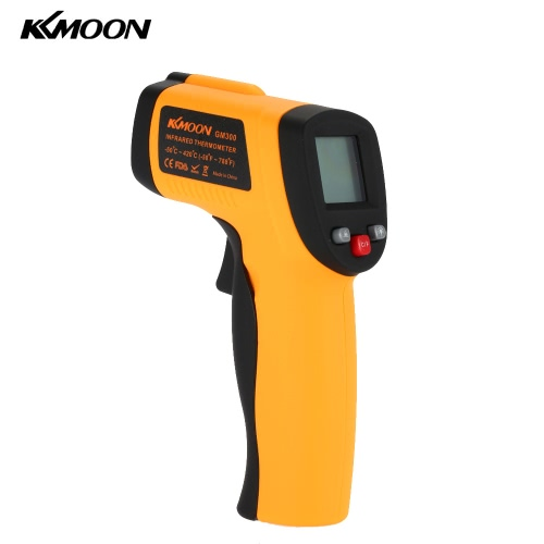 KKmoon Infrared IR Thermometer Minus 50 ℃ Up to 900 ℃ (alarm MAX / MIN / AVG / DIF Display)