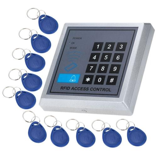 RFID Nähe Türeinstieg Access Control System + 10 Schlüsselanhänger
