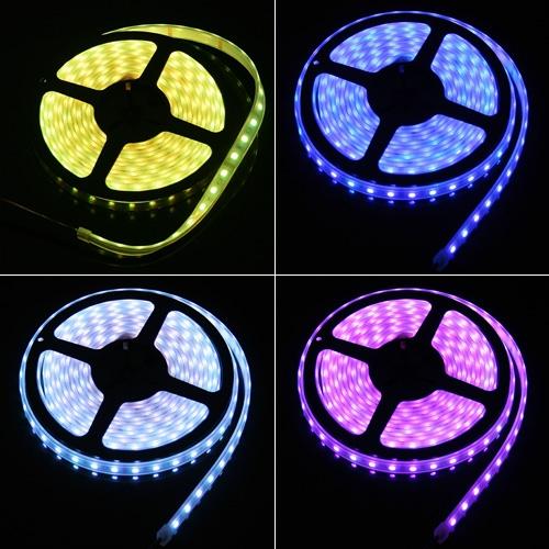 5050 SMD RGB LED luz de tira suave