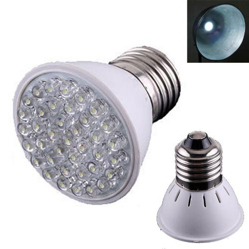220V 1.9W E27 38 LED weiße Glühlampe-Lampe