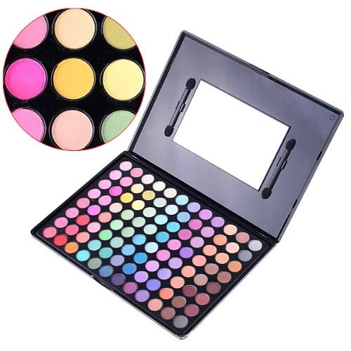 96 Color Fashion Eyeshadow Makeup Palette Set Warm Color Cosmetic Kit