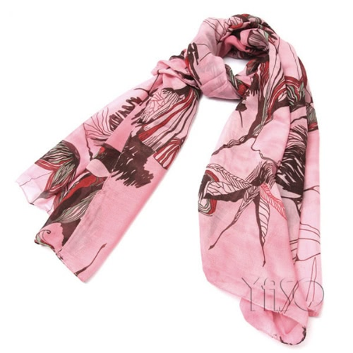 Begonie Blüte Schal