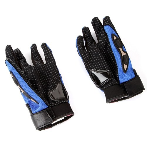 Docooler1 Pair Ergonomic Design Anti Slip 3D Hard Shell Protective Gear Motorcycle Sport Racing Bike Bicycle Riding Cycling Gloves