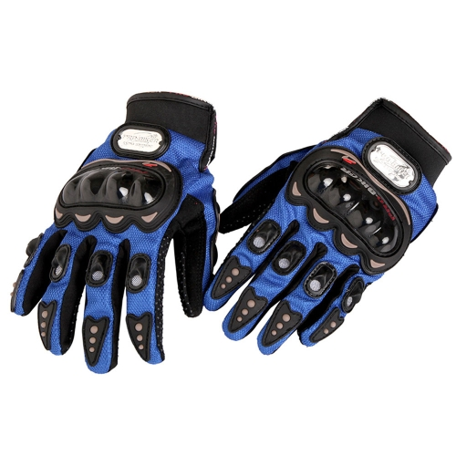 Мотоцикл Велосипед Полные Пальцы Защитные перчатки