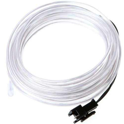 3M белый гибкий Неон светло-Эль-трос трубка с контроллером
