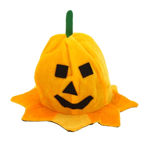 Тыквенная шляпа для Хэллоуина