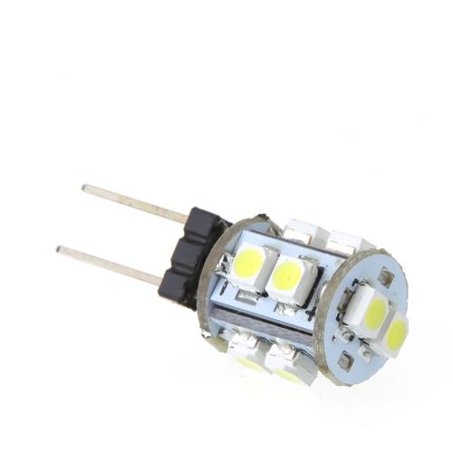 Luz LED bombilla G4 10 1210 SMD blanco