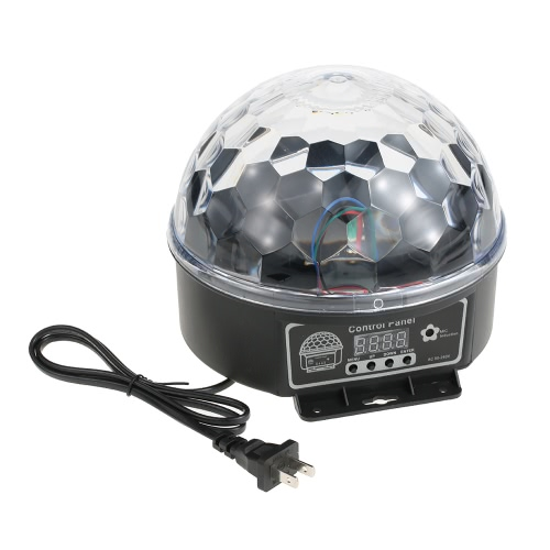 Magic Ball Crystal Light LED RGB Efecto