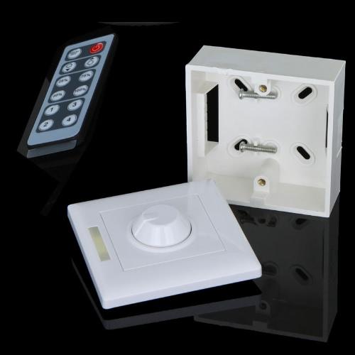 12 Key Infrared LED Light Brightness Control Dimmer Wireless Controller 12-24V