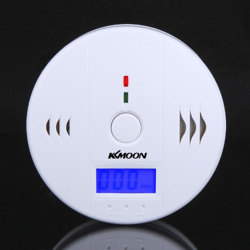61% OFF LCD CO Carbon Monoxide Poisoning Sensor Monitor Alarm Detector,limited offer $6.68