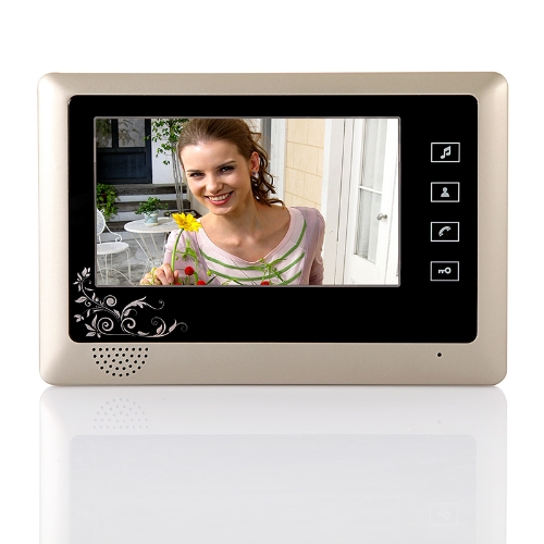 7 TFT LCD Home Sicherheit Monitore Vedio Türsprechanlage Türklingel Haustelefon System Sensortaste